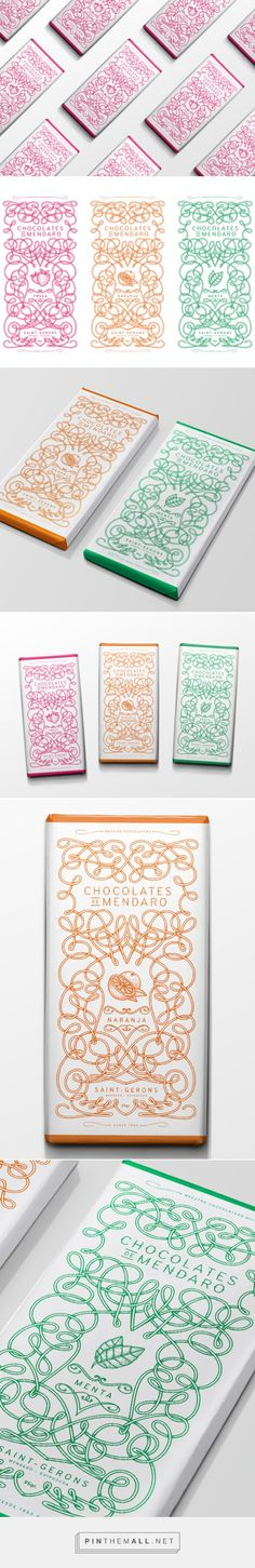 Chocolates de Mendaro on Packaging of the World - Creative Package Design Gallery. - a grouped images picture - Pin Them All Food Graphic Design, Graphic Design Projects, Graphic Design Branding, Label Design, Graphic Design Illustration, Package Design, Design Thinking, Page Layout Design, Typography Love