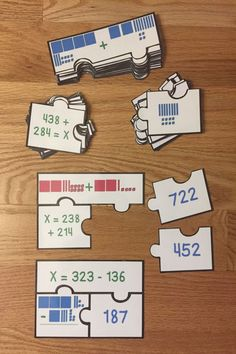 Looking for a fun teaching idea for adding and subtracting 3 digit numbers? Well look no further as 3 Digit Addition and Subtraction with Regrouping Game Puzzles, for CCSS 3.NBT.2, will serve as an exciting lesson for 3rd grade elementary school classrooms. This is a great resource for a guided math center rotation, review exercise, small group work and for an intervention or remediation. I hope you download and enjoy this engaging hands-on manipulative activity with your students!