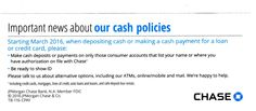 """And Now """"Some Important News About JPMorgan's New Cash Policies"""""""