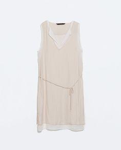 ZARA - WOMAN - COMBINED LAYERED DRESS