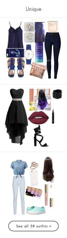 """""""Unique"""" by midnight-shadow-kiss ❤ liked on Polyvore featuring Sans Souci, Dorothy Perkins, Urban Decay, Jouer, Captain Blankenship, Kate Spade, Saachi, Lime Crime, 7 For All Mankind and Miss Selfridge"""