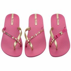 4cf8ba36621d3e Pair Of 3 (Pink Gold) Jelly Shoes