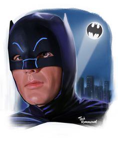Adam West Batman Tribute by Ted Hammond