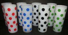 Collecting Vintage Polka Dot Kitchenware: Hazel Atlas, Fire King ...