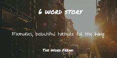 Six Word Story The Word Freak, writers on tumblr, poetry, writing, writers on wordpress, writers on instagram
