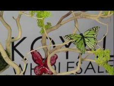Hand Painted Butterflies (Bulk 36 Pieces) 4 COLORS AVAILABLE