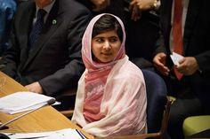 La joven paquistaní Malala Yousafzai pide a la Organización de las Naciones Unidas (ONU) más esfuerzos para impulsar la educación en el mundo, nueve meses después de ser atacada por los talibanes, que quisieron poner fin a su campaña en favor de la escolarización de las niñas. (Reuters)