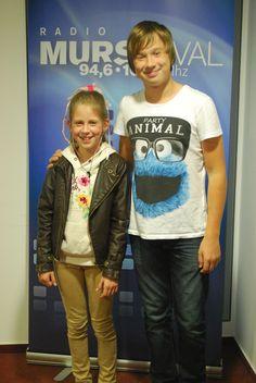 Dominik Gönc je v Mali radio povabil šahistko Alino Lukač, ki obiskuje 5. razred Osnovne šole 1 v Murski Soboti.
