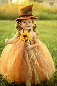 Adorable scarecrow