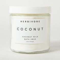Handmade All Natural Vegan Coconut Bath Soak