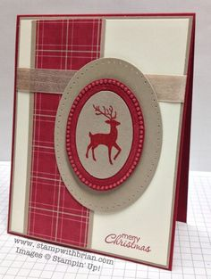 hand crafted Christmas/winter card ... card sketch FMS102 ... Warmth & Wonder  ... by Brian King   ... like the strong lines and how using just three colors unifies the design ... switch the Christmas sentiment or leave it off for a great greeting card ... luv the tips Brian includes on his blog ... great guy card that anyone would luv to receive ... Stampin' Up!