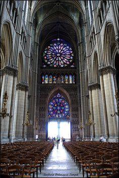 Reims by Barbara DALMAZZO-TEMPEL, via Flickr ~ Cathedrale Notre Dame de Reims