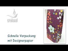 Schnelle Verpackung aus Designerpapier mit Stampin' Up! - YouTube