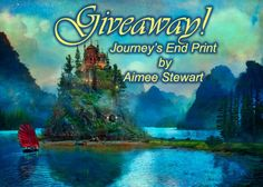 """WINNER: Dawn White! Foxfires #Giveaway - the Art of Aimee Stewart! """"Journey's End"""" is a gallery-quality Giclée print on natural white, matte, ultra smooth, 100% cotton rag, acid and lignin free, archival paper using Epson K3 archival inks. Custom trimmed with 1"""" border for framing. ENDS: Sunday, August 17, 2014 at 11:59pm!"""