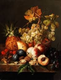 Картинки по запросу персики в вазе