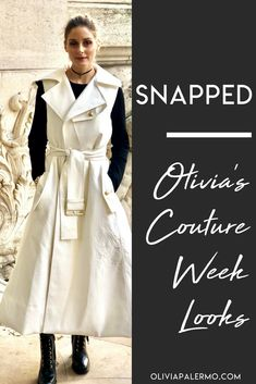Olivia packs three winning looks into one busy and beautiful day.