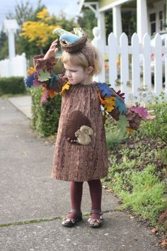 The cutest tree costume I've seen!