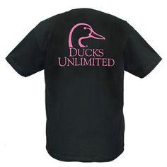 Ducks Unlimited Short Sleeve Logo Shirt 60-442J  $19.99
