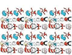 Dr. Seuss Stick Puppets  - pinned by @PediaStaff – Please Visit  ht.ly/63sNt for all our pediatric therapy pins