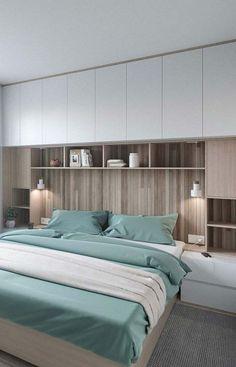 Bedroom Wardrobe Design Ideas That Inspire On 2019 31 Modern Master Bedroom, Master Bedroom Design, Minimalist Bedroom, Home Decor Bedroom, Bedroom Ideas, Contemporary Bedroom, Bedroom Furniture, Bedroom Scene, Bedroom Inspo