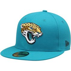 official photos cabe2 ad62e Men s Jacksonville Jaguars New Era Teal Omaha 59FIFTY Fitted Hat, Your  Price   34.99 Jacksonville