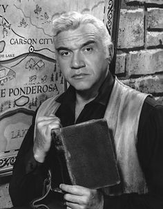 Lorne Greene - (February 12, 1915 – September 11, 1987)