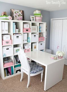 @ejohnson92 Two Twenty One Home Office Before and After - Home Office Decorating Ideas - Country Living