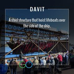 Did you know the #travelterm Davit??? #GoGroupOuting #GroupOuting