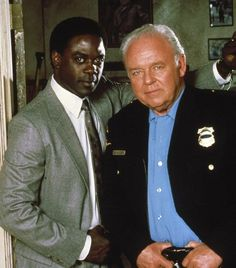 In the Heat of the Night (TV Series 1988–1995) is an American drama television series based on the 1967 film and the 1965 novel of the same title. It starred Carroll O'Connor as police chief William Gillespie, and Howard Rollins as police detective Virgil Tibbs.