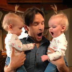 Graham Wardle Had a great time working with these wonderful little girls! Heartland Characters, Heartland Actors, Watch Heartland, Heartland Quotes, Heartland Ranch, Heartland Tv Show, Heartland Georgie, Heartland Season 11, Amy And Ty Heartland