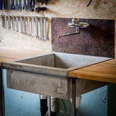 Bicycle repair shop/showroom - www.sverresaether.com Decor, Furniture, Repair Shop, Bamboo, Shopping, Dining Table, Home Decor, Showroom, Furniture Design