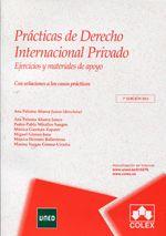 Prácticas de derecho internacional privado. COLEX, 2013.
