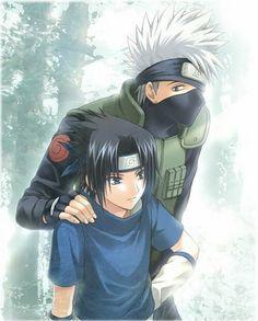 Naruto - Kakashi et Sasuke