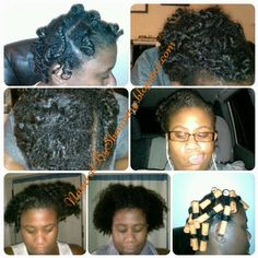 Perm Rods on 2 Strand Twists - Natural Hair For more: http://naturalbyshauntay.blogspot.com/2014/08/perm-rod-set-on-natural-hair.html  #naturalsbyshauntay   #permrodset   #curls   #curlsunleashed   #twists   #moisturizeme   #trytryagain  #natural #hairjourney