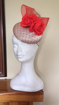 Gold Fascinator, Headpiece, Fascinators, Christmas Stockings, My Etsy Shop, Coral, Nude, Trending Outfits, Holiday Decor