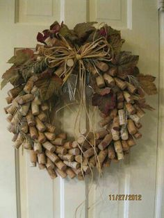 Cork wreath                                                                                                                                                     More