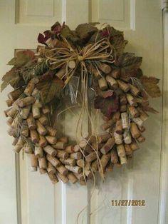 Cork wreath                                                       …