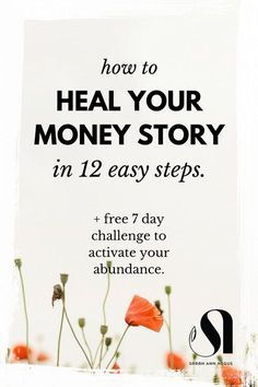 Like to manifest money? How to heal your money story in 12 easy steps. Have you ever thought about money being an energy? It is. It sits well and truly in the Universal Law of Compensation. Money mindset | entrepreneur mindset | law of attraction | abraham hicks, intentionally living, mindful living, love your life, love my life, love myself, attract abundance, abundant living, energy healing.