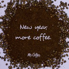 You can guess what our New Year's resolution is.   Repin if coffee is on your resolutions list!