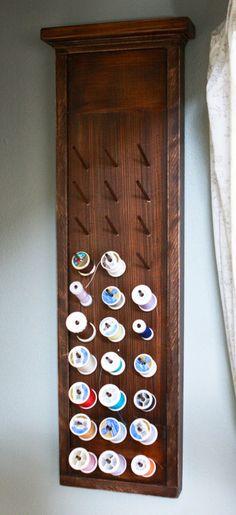 The Friendly Home: {DIY} Thread Board
