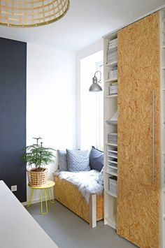 IKEA bookcase with door. | Another Candidate for the Best IKEA BILLY Hack of All Time