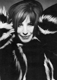 Barbra Streisand and some major fur