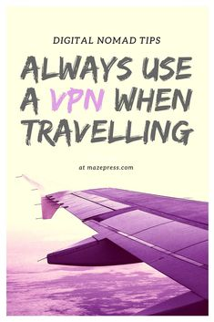 The importance of a VPN for travelers and digital nomads. Best Vpn, Private Network, Blog Names, Digital Nomad, Find A Job, How To Start A Blog, Travel Around The World, Have Fun, Social Media