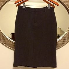 Brown skirt from Gap Stretchy skirt great for office wear, good condition GAP Skirts