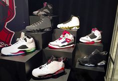 (Photo) Kicks: Jordan Brands Summer 2015 Retro Collection First Look! on In Flex We Trust – It sure is good to have a Jordan connect with that being said… Air Jordan Retro, Jordans Sneakers, Shoes Sneakers, Adidas Shoes Outlet, Retro Summer, Nike Free Runs, Nike Free Shoes, Sports Shoes, La Mode