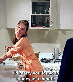 Breakfast at tiffanys quotes holly golightly movie audrey hepburn ideas for 2019 Breakfast At Tiffany's Book, Breakfast At Tiffany's Costume, Breakfast At Tiffany's Quotes, Funny Breakfast, Film Quotes, Book Quotes, Funny Quotes, Funny Humor, Cinema Quotes
