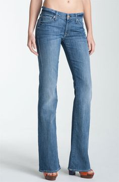 2ecb3b3947afb 7 For All Mankind® Bootcut Jeans (Heritage Light) available at #Nordstrom  Bell
