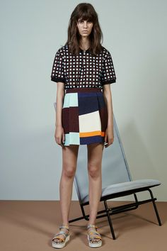 MSGM | Resort 2015 Collection | Look 25