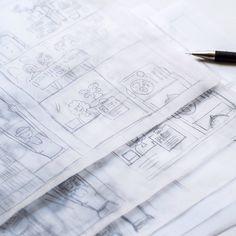 I'm starting with a new design for an information-brochure for the studienkompass . . . . . . . . . . #studienkompass #workinprogress #scribble #graphicdesign #handdrawing #pencil #blackandwhite #stiftungderdeutschenwirtschaft #education #scholarship...