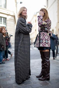 Paris Fashion Week Street Style [Photo by Kuba Dabrowski]